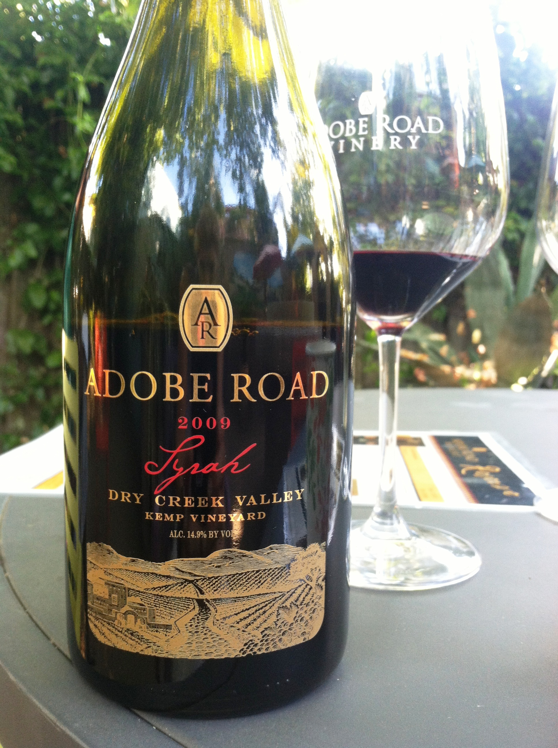Adobe Road Award Winning Syrah